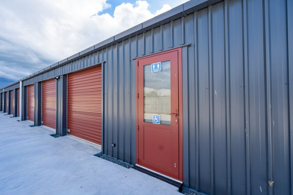 Secure storage units with toilet on site in Rangiora