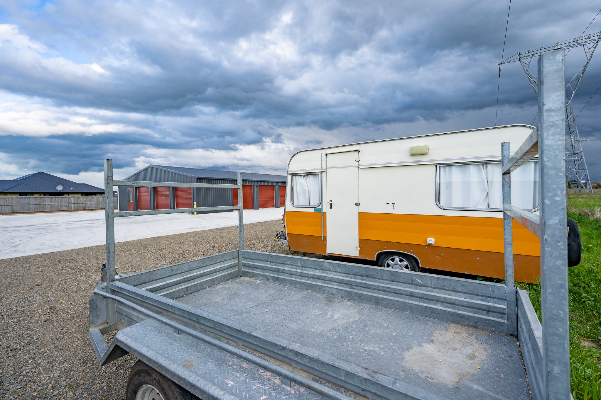 Secure, swipe card protected dry storage in Rangiora
